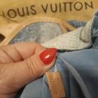 Louis Vuitton Torba Sunrise GM BLUE OMBRE DENIM ORYGINAŁ RZADKI