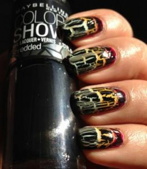MAYBELLINE Lakier Color Show 60 Carbon Frost Crake