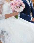 Idealna koronkowa suknia ślubna roz S...
