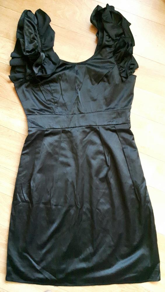 Sukienka mała czarna VILA 36