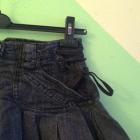 Mega mini jeansowa glam River Island s m