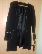 Stan idealny czarny plaszcz