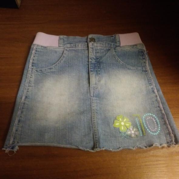 dżinsowa spódnica 128