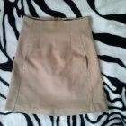 karmelowa spódnica Zara