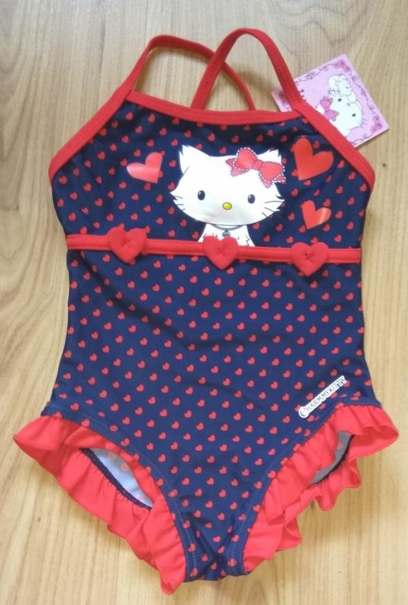 Nowy dziewczęcy strój kąpielowy 80 86 Kotek Charmmykitty