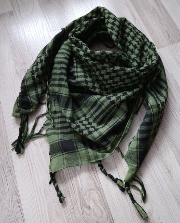 Zielona arafatka chusta bandana...