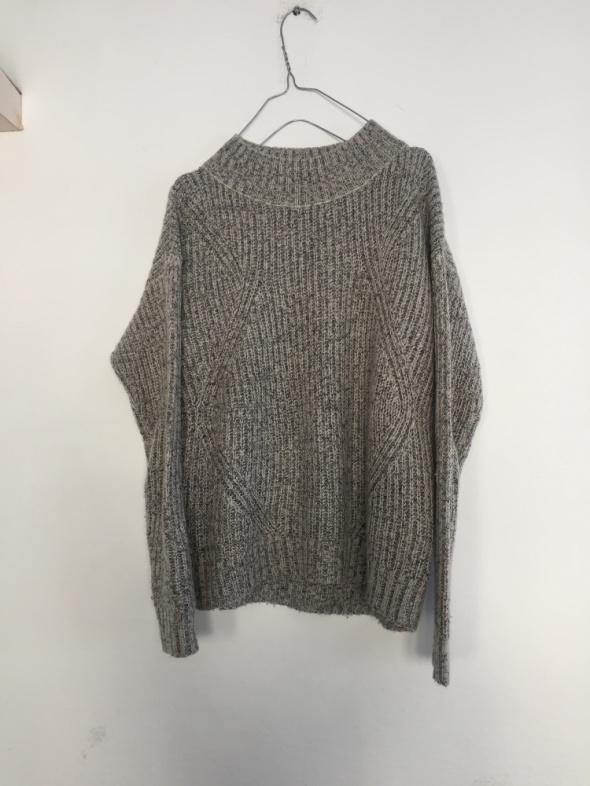 szary sweter półgolf Tally Weijl