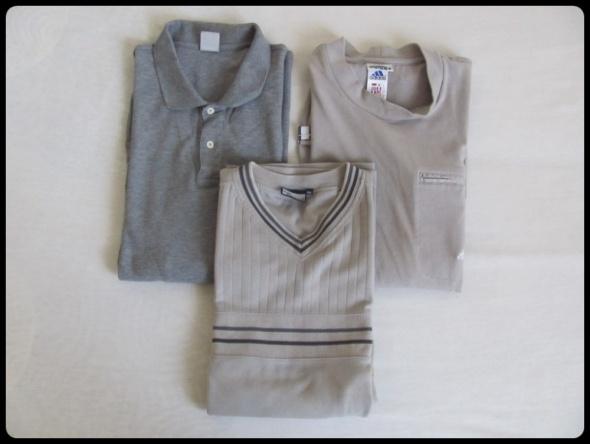 koszulki męskie na większy rozmiar Adidas FILA Tom Tompson...