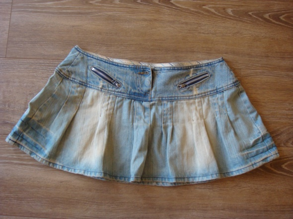 Spódniczka jeansowa rozkloszowana rozmiar M...