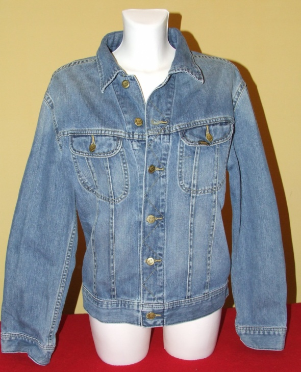 Kurtka Lee Rider Jacket gruby Jeans oldshool r L...