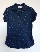 Nowa koszula H&M kotwice styl marynarski 36 S...