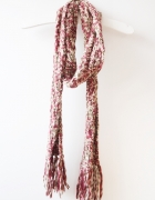 melanżowy szalik