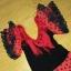 Sukienka flamenco frędzle