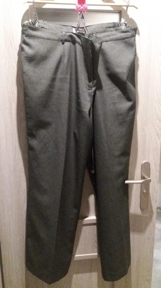 Wizytowe Eleganckie spodnie w kant 48 50 52