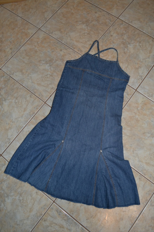 Sukienki i spódniczki Jeansowa sukienka H&M