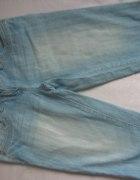 Orsay spodnie jeansowe do kolan rozm S M...