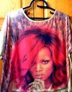Rihanna bluzka Only girl in the world...