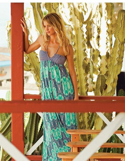 ONeill sukienka plazowa z USA S XS dluga...