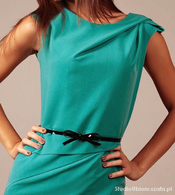 Elegancka i oryginalna sukienka rozm 44