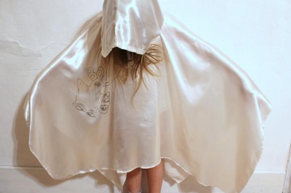 Pozostałe Przebranie ducha kostium karnawałowy 68 lat
