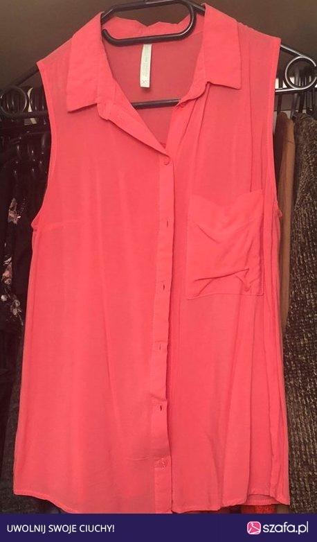 Wyprzedaż różowa koszula bershka...