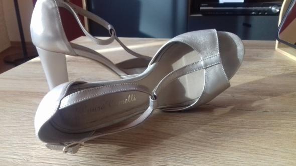 Sandały szpilki czółenka Klimpol by Laura Camelli ślub wesele chrzciny