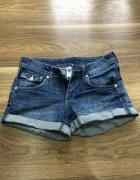 Krótkie spodenki jeansowe damskie rozmiar 34...