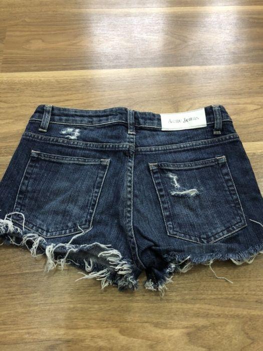 Krótkie spodenki jeansowe damskie rozmiar 28 w Spodenki