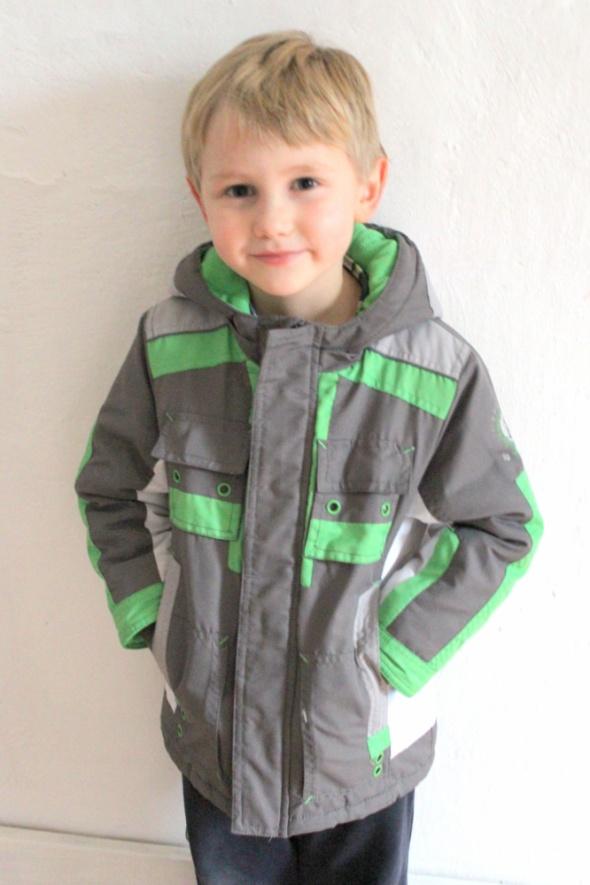 Kurtki Zimowa kurtka chłopiec r 98110