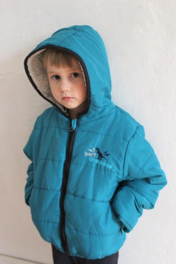 Kurtki Zimowa kurtka chłopiec r 104110