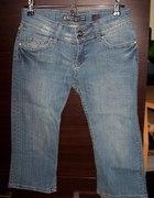 Jeansowe z moro roz 38...