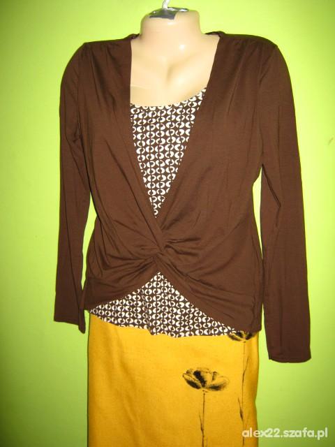nowa bluzka 2w1 40 42 L XL
