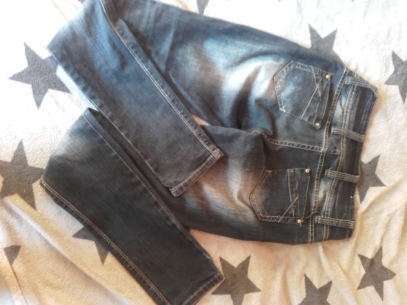 Spodnie wysoki stan 36s
