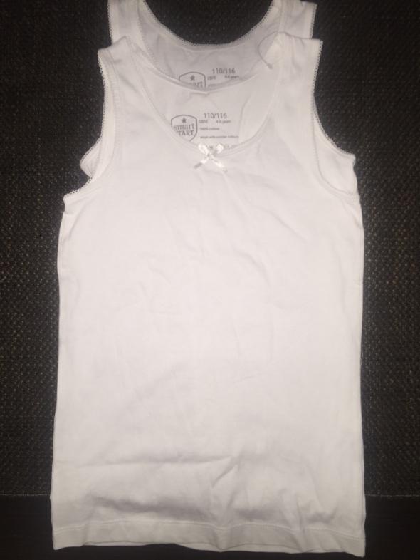 2 koszulki bawełniane 110 116 4 do 6 lat nowe