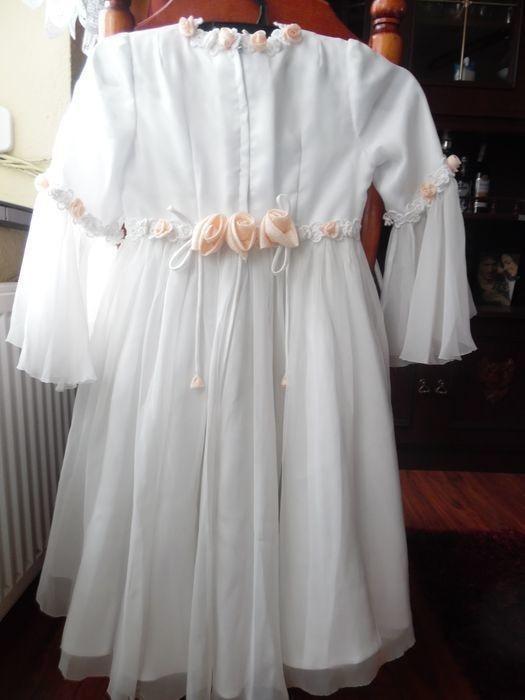 Sukienki i spódniczki Sukienka biała komunijna lub noszoną w trakcie kumunii lub po