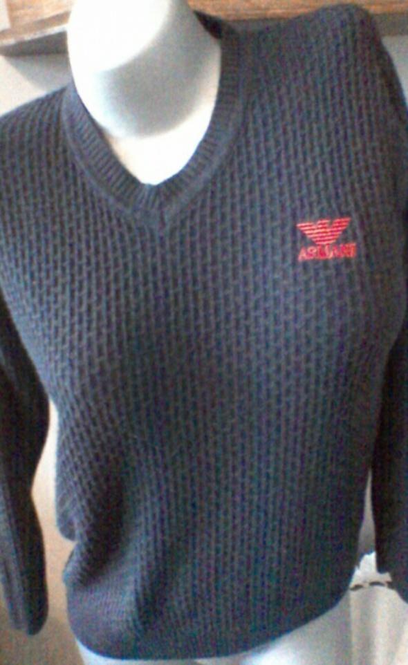 Armani sweter granat 36...