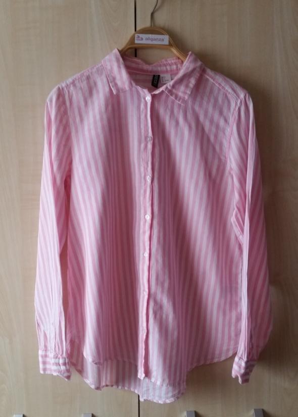 Koszula w paski H&M S M
