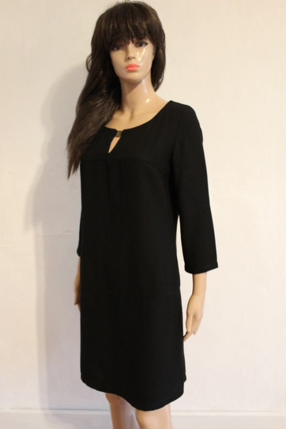 Czarna elegancka sukienka r M