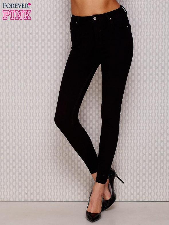 febea8b5ad12 Czarne spodnie z wysokim stanem rozmiar S w Spodnie - Szafa.pl