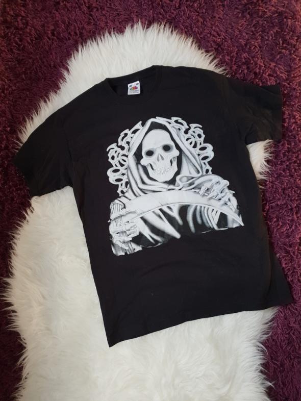 Koszulka z czaszką S M