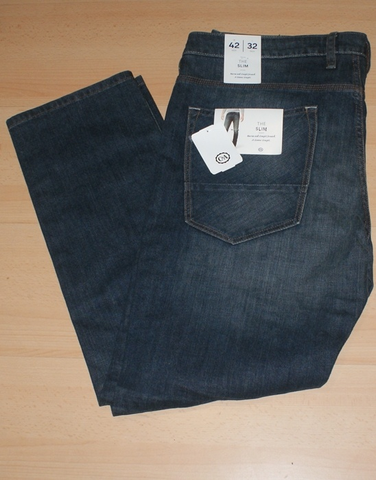 Męskie spodnie jeans the slim