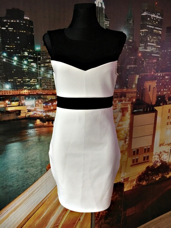 541758e1e2 Suknie i sukienki amisu sukienka mini ołówkowa siateczka nowa hit blog 38 M