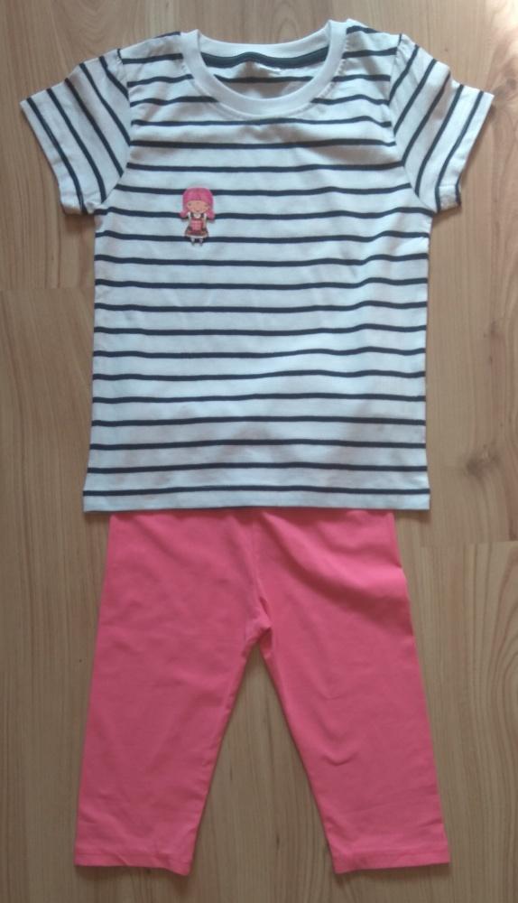 Nowy komplecik dla dziewczynki bluzeczka i getry k