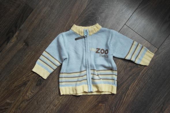 Sweterek Coccodrillo rozpinany 74