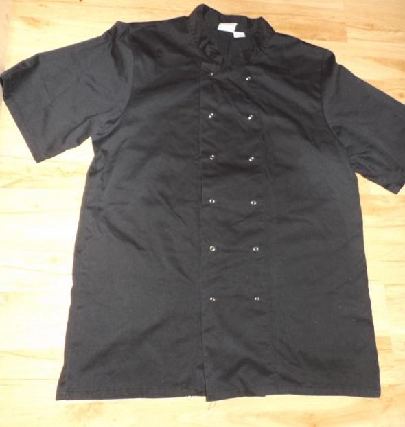 Czarna bluza kucharska L 56 do 58