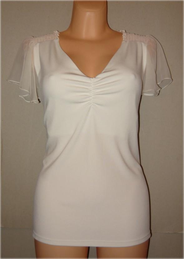 all woman bluzka szyfonowe rękawki cudna 48 50