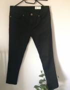 Czarne spodnie skinny L...