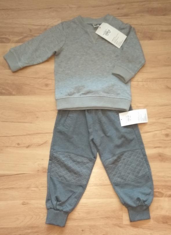 Nowe dresy dla chłopca bluza i spodnie dresowe 86