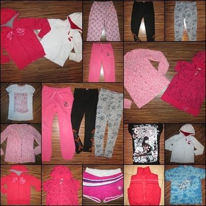 Zestaw ubrań dla dziewczynki rozmiar ubrań 10 11 lat 140