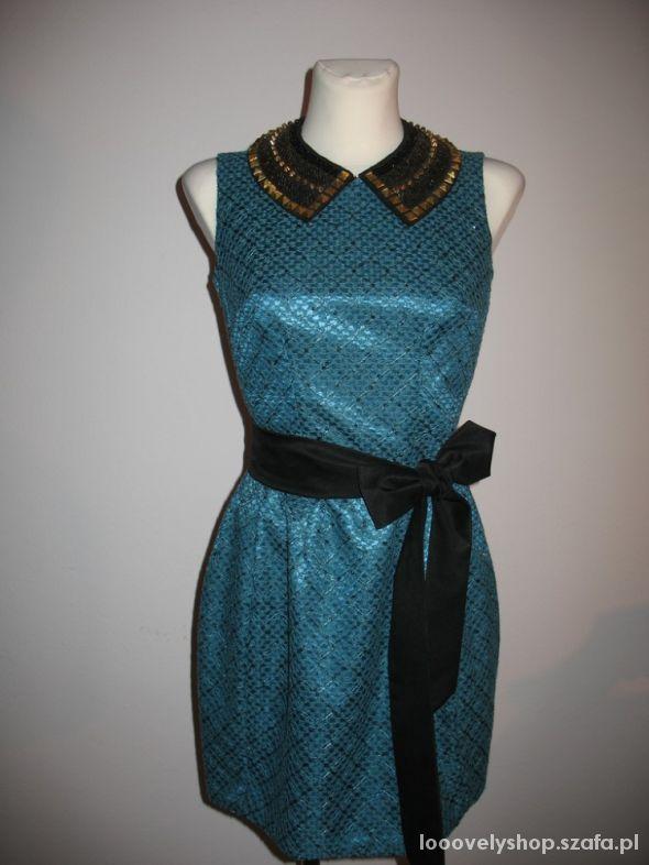 Nowa sukienka zieleń dwa rozmiary 36 i 38